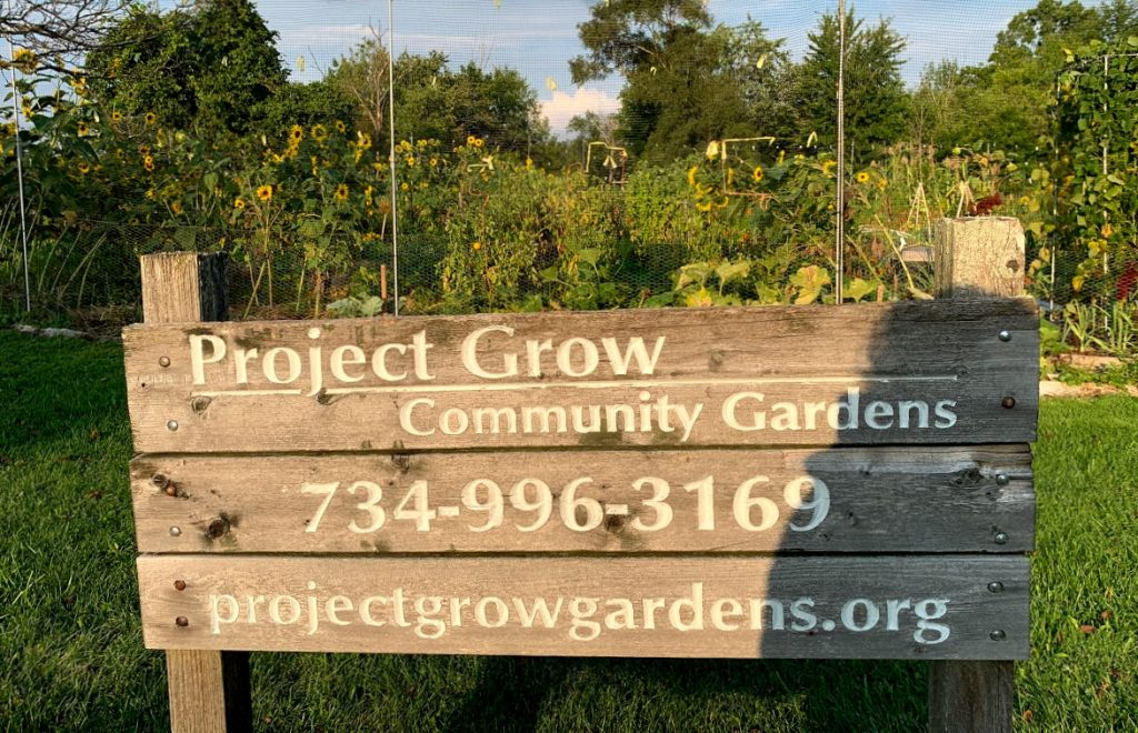 Project grow community gardens